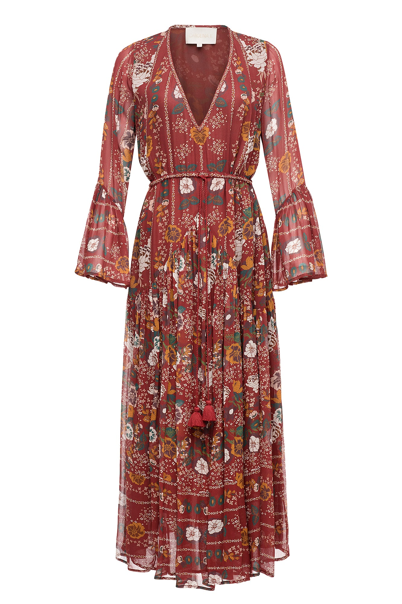 Carolina K Jude Dress Antique Flowers