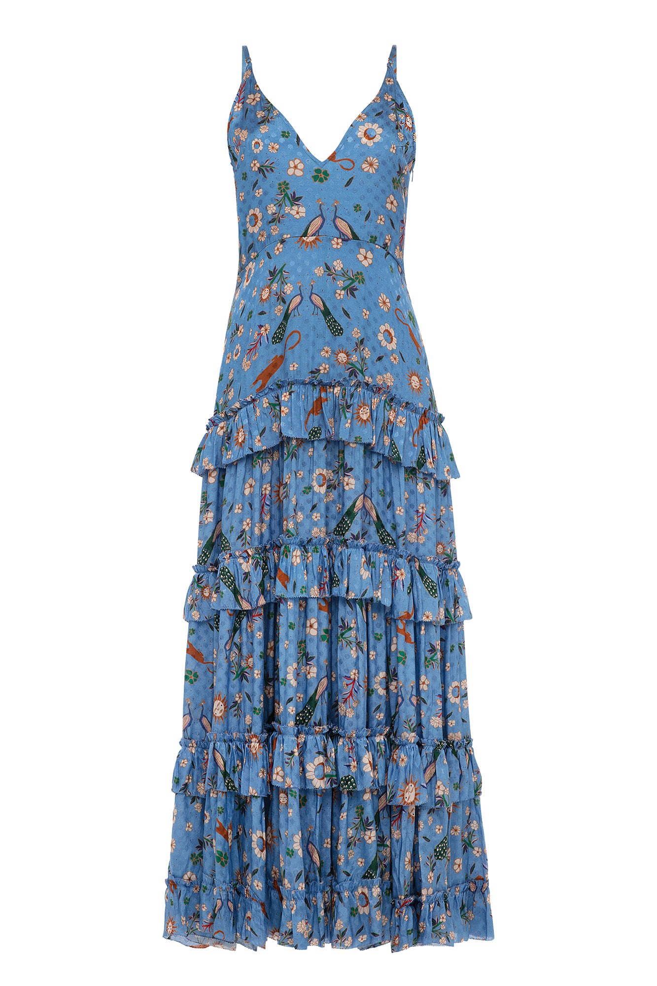 Carolina K Julia Dress Sunflowers
