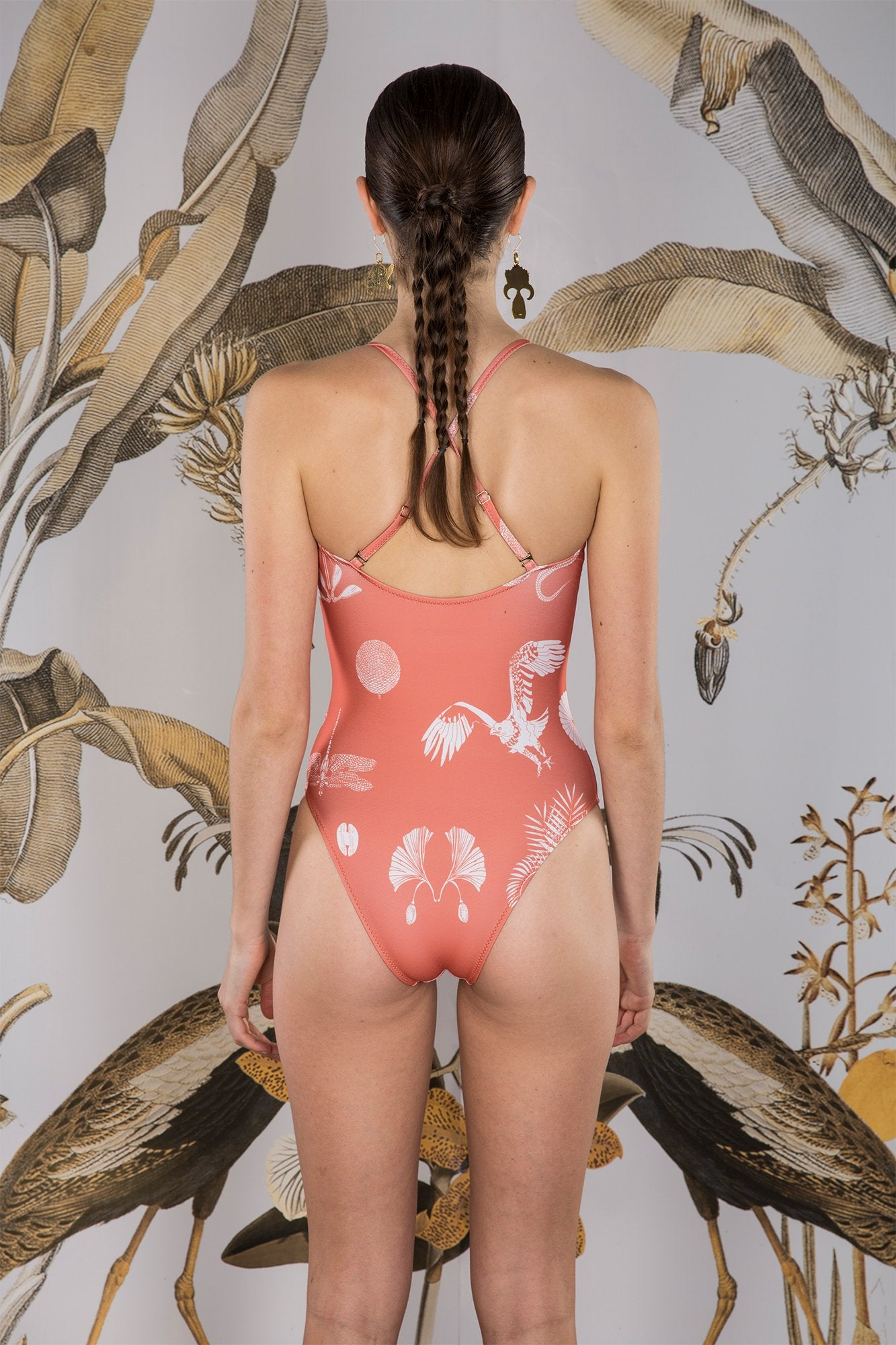 Carolina K Marieta One Piece Desert Animals Koi