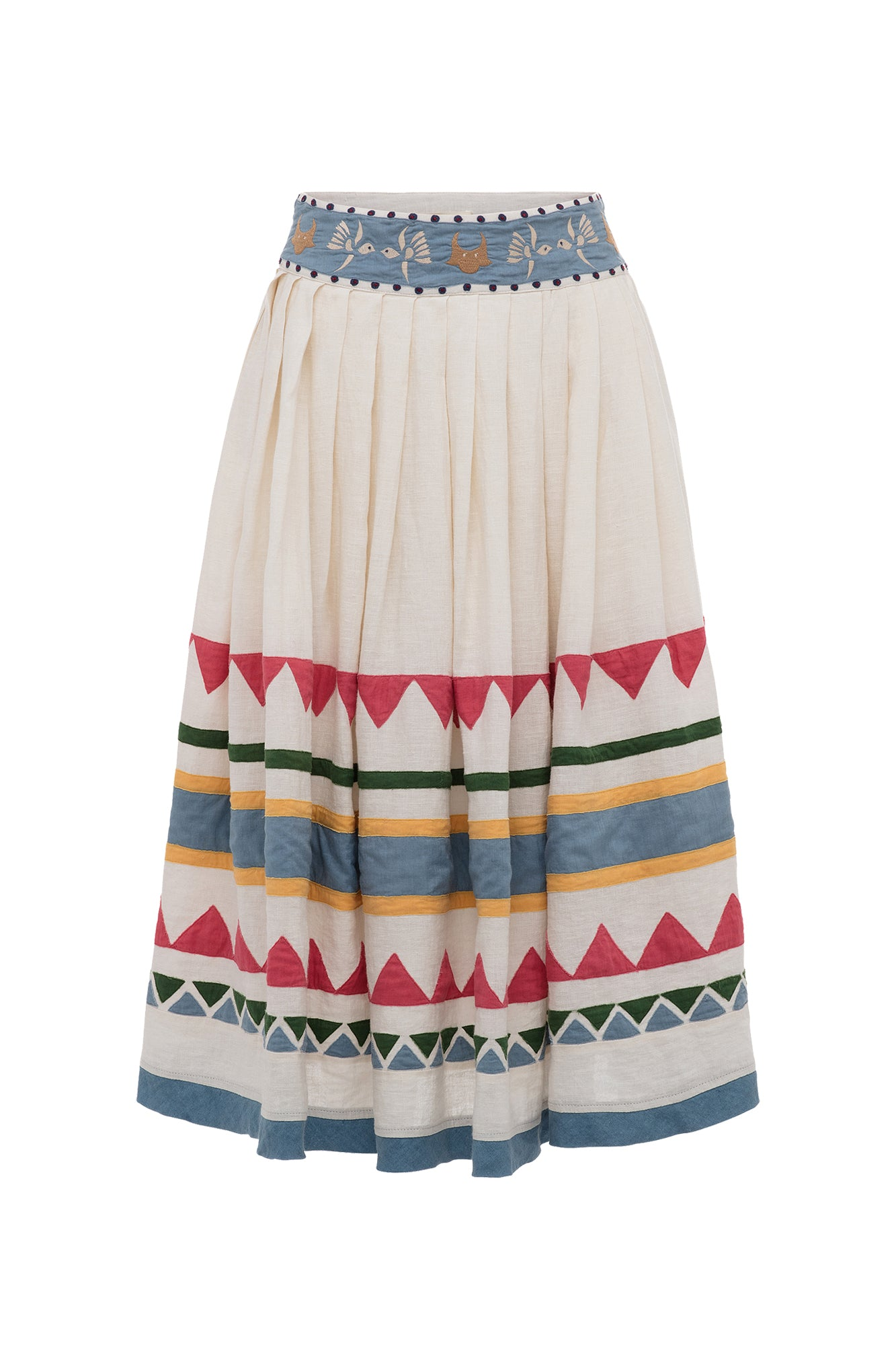 Carolina K Roma Skirt White