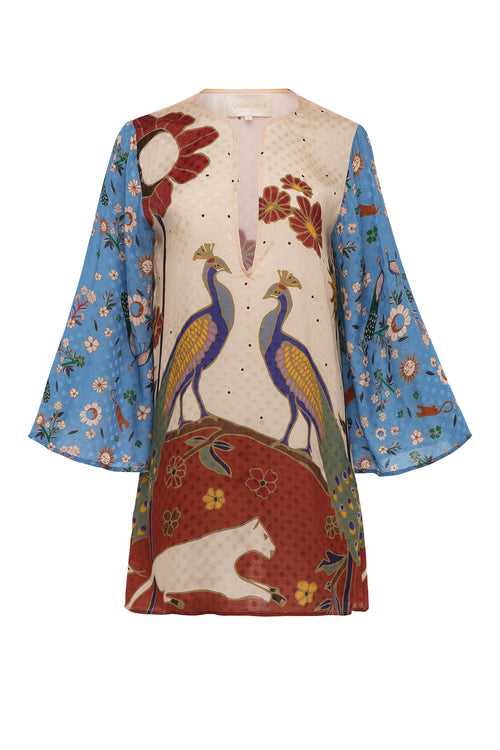 Carolina K Rosie Tunic Peacocks