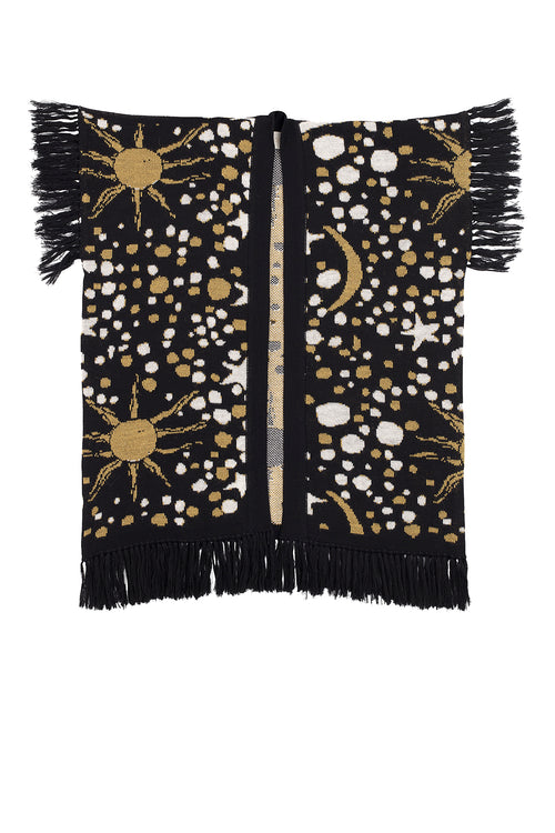 Carolina K Rue Cape Constellation Black