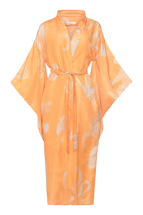Carolina K Samantha Kimono Desert Animals Gold