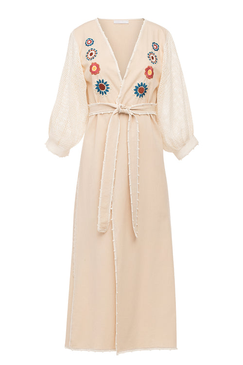Carolina K San Juan Robe in Flower Power