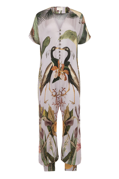 Carolina K Sera Jumpsuit Tropical