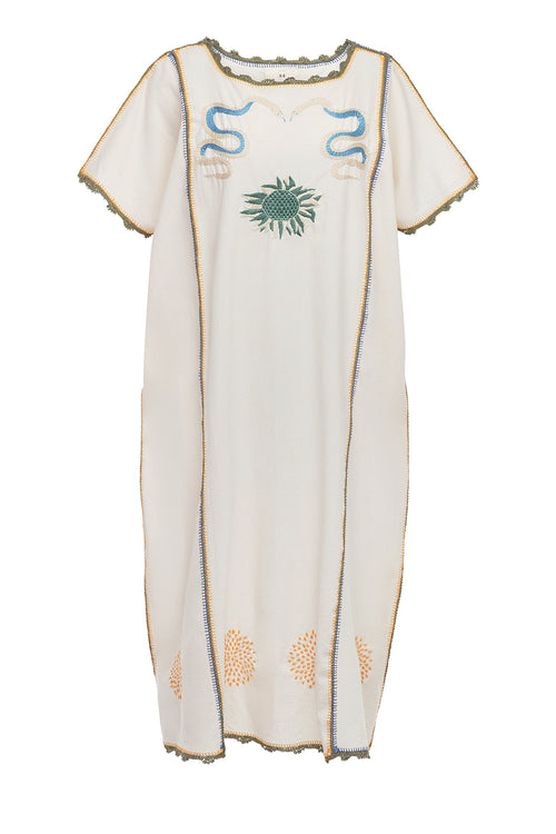 Carolina K Syd Kaftan Cream