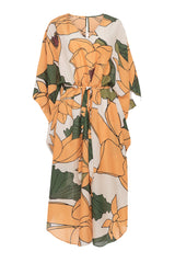 Carolina K Xim Kaftan in Lotus Flower Yellow