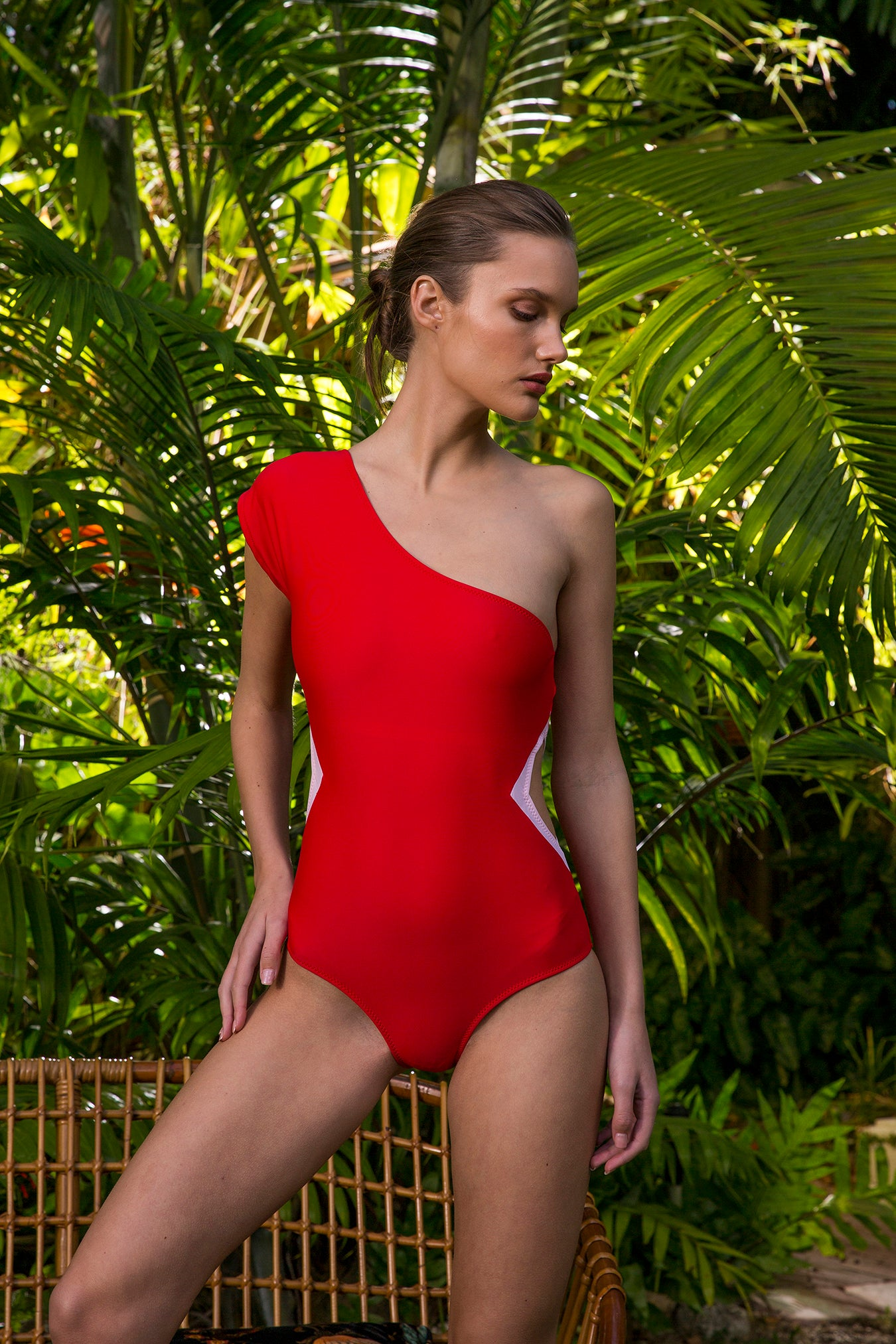 Carolina K Tilda One Piece Red/Pink