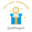GeekWrapped Best Meat tenderizer