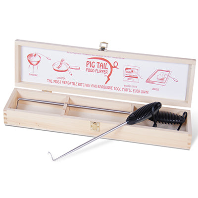 "PigTail® Food Flipper Combo Hardwood Case 12"" & 19""- ABS Handle"