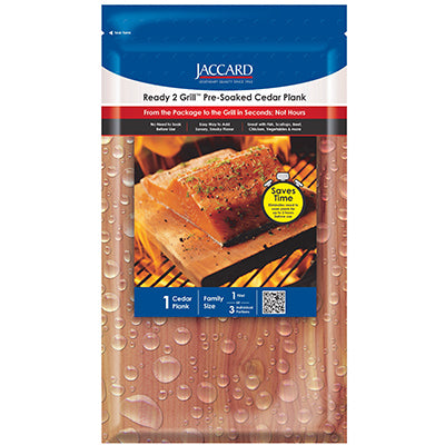 Ready 2 Grill™ Pre-Soaked Cedar Planks Small (1 plank / pkg)