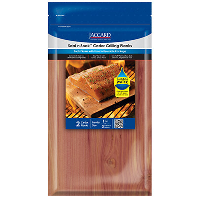 Seal N' Soak™ Cedar Planks Small (2 planks / pkg)