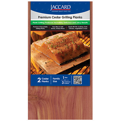 Premium Cedar Grilling Planks Large - Shrink-wrap (2 planks / pkg)