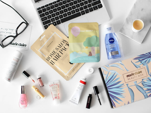 Marie Claire Beauty Box || Jaro 2018