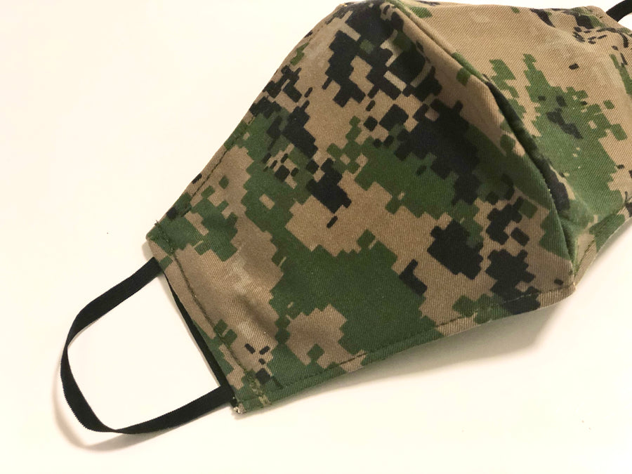 JROTC Camo Face Mask