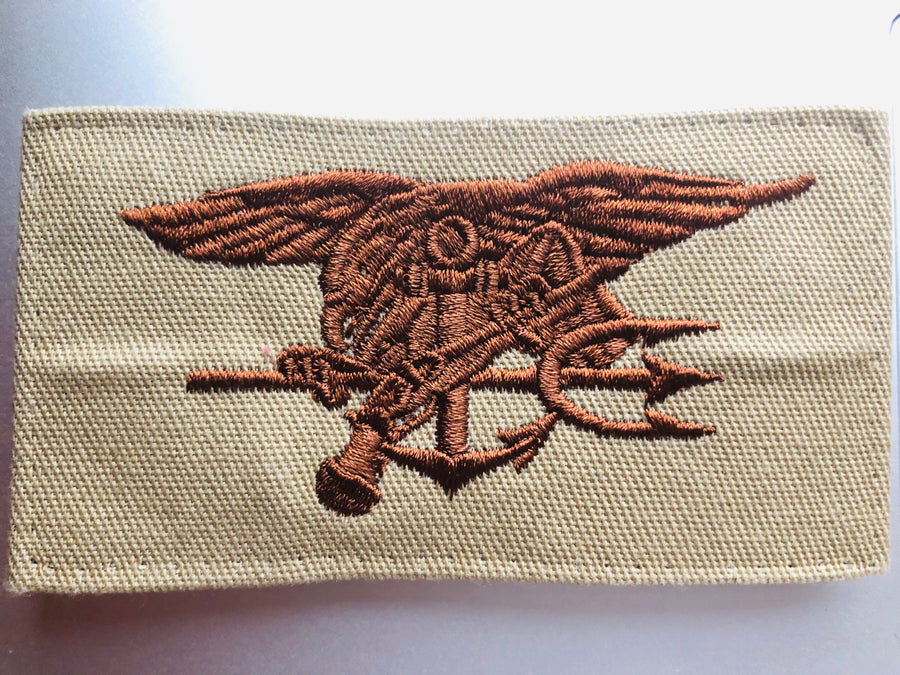 US Navy Embroidered Badge - SEAL - Special Warfare
