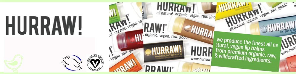 Hurraw Vegan Lip Balm