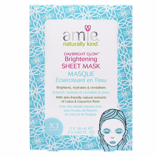 Amie Daybright Glow Brightening Sheet Masks
