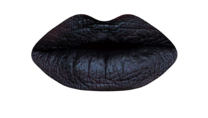 Pretty Zombie Vegan Liquid Lipstick - BLACK CAT