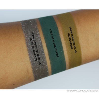 Shiro Cosmetics Eyeshadow - LEAF ME ALONE, I'M PINE