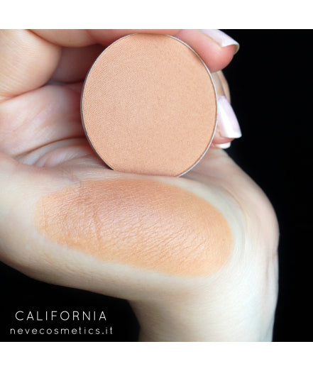 Neve Cosmetics Single Blush / Bronzer Pan - CALIFORNIA