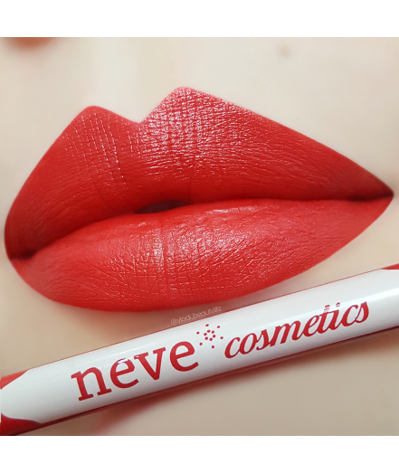 Neve Cosmetics Pastello Lip Pencil - TEATRO (Deep Crimson Red)