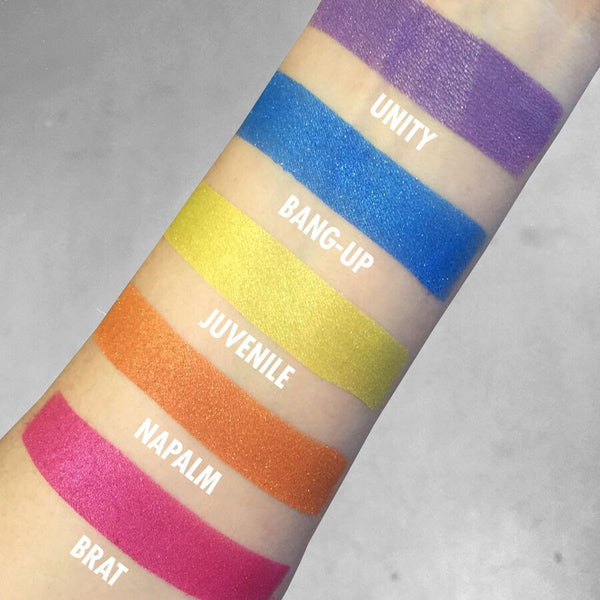 Concrete Minerals Eyeshadow Color Stacks