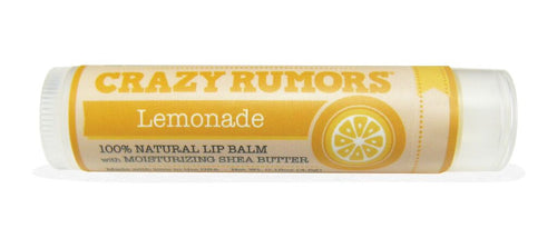 Crazy Rumors Citrus Flavoured Vegan Lip Balms