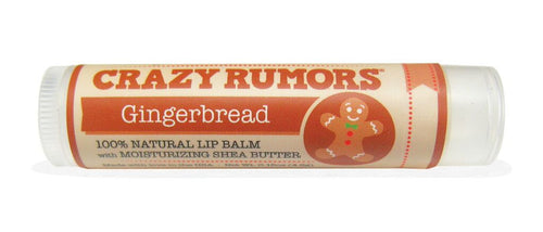 Crazy Rumors Gingerbread Vegan Lip Balm Limited Edition