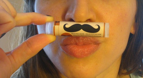 Crazy Rumors My Stache Sweet Mint Vegan Lip Balm
