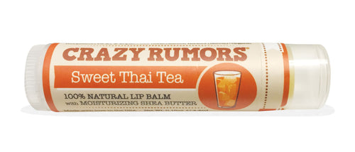 Crazy Rumors Sweet Thai Tea Vegan Lip Balm