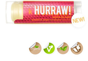 Hurraw! Black Cherry Tinted Lip Balm
