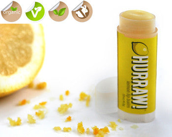 Hurraw! Lemon Lip Balm