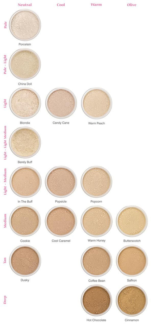 Lily Lolo Mineral Foundation Trial Sizes