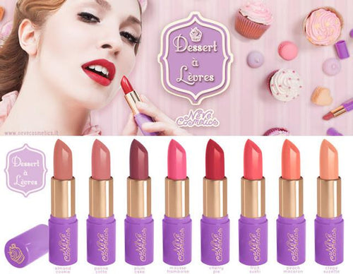 Neve Cosmetics Dessert a Levres Lipstick - Fruit Sushi (Bright Coral Pink)