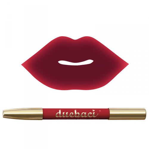 Neve Cosmetics Dual Lipliner & Lipstick Pencil MASQUERADE (Deep Crimson & Ruby Red)