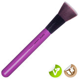 Neve Cosmetics Glossy Artist Purple Flat Top Buki brush