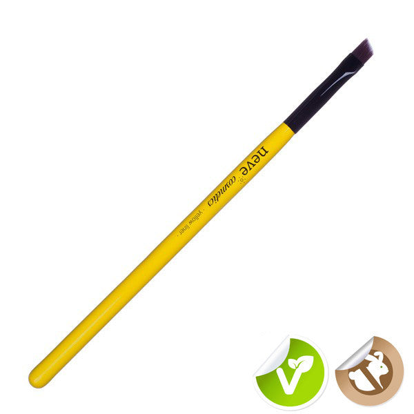 Neve Cosmetics Glossy Artist Yellow Eyeliner Brush