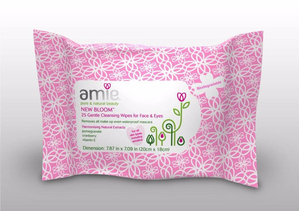 Amie New Bloom Gentle Facial Cleansing Wipes