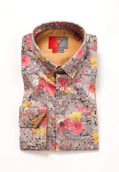 Make your own style statement with Men's floral shirts