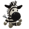 Pet Flys Knit Knacks Zsa Zsa the Zebra