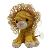 Pet Flys Knit Knacks King Cuddles the Lion
