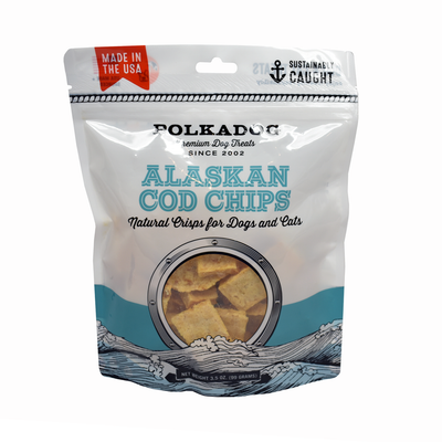 Polkadog Alaskan Cod Chips Treats