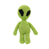 Pawer Squeaky Alien Toy