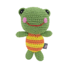 Pawer Squeaky Frog Doll Toy
