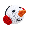 Pawer Squeaky Snowman Toy