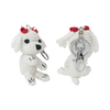 Hip Doggie Dog Star Maltese Keychain