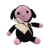 Pet Flys Knit Knacks Baabaa Lamb Toy