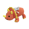 Pet Flys Knit Knacks Bop The Triceratops Toy