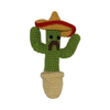 Pet Flys Knit Knacks Cactus Toy